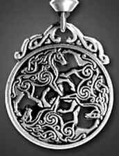 EPONA Celtic HORSE Equine Goddess Pendant Necklace Divine Guidance Amulet Pepi