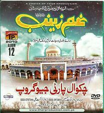 CHAKWAL PARTY /GHAM E ZAINAB /NOHAY - CARD BORED PACKING DVD ALBUM 12