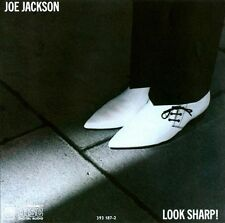 JOE JACKSON: LOOK SHARP! CD! W/ONE MORE TIME ~ SUNDAY PAPERS! G+/VG-