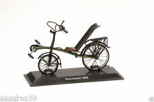 Collection Bicycle 1:15 scale -Dawes Low Rider Recumbent  Metal Model - BIC082