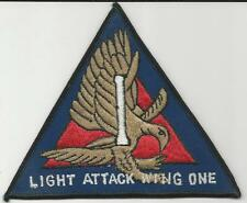 Light Attack Wing One (Large)  (US Navy Squadron Patch) (1980's)