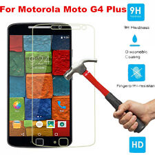 9H Premium Tempered Glass Screen Protector Film Guard For Motorola Moto G4 Plus