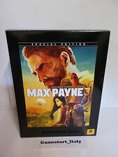 MAX PAYNE 3 SPECIAL COLLECTOR'S EDITION (PC) NUOVO NEW VERSIONE ITALIANA