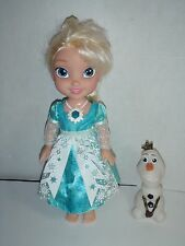 Disney Princess Frozen Snow Glow Elsa Olaf Singing Doll English Spanish Lights