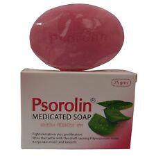Psorolin Medicinal Baño Barras De Jabón Psoriasis Piel Seca Caspa (paquete 2)