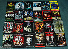 Bulk Lot Wholesale 24 DVD's Horror, Thriller, Scary, Suspense, Videos DVDs