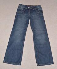 Ladies Next Petite Boyfriend Jeans Dark Blue Size UK 10
