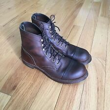 Red Wing Boots Brown 8111 Men's 7.5D (fits 8D)
