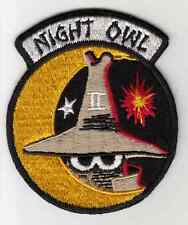Wartime Night Owl Fighter Patch / Pilot / Aviation