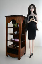 Shelf Cupboard Cabinet Showcase Furniture for Dolls 12 inch 1:6 FR Barbie Momoko