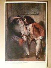 Cassell's Art Postcard Uncle Toby and The Widow Wadman-Picture by C.R.Leslie RA