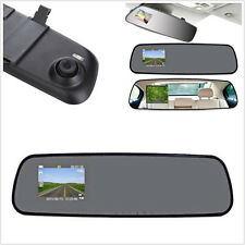 "2.4"" HD Vehicle Rearview mirror traffic recorder Dash Cam Video DVR Night Vision"