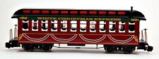 Bachmann G Scale Train (1:22.5) Passenger Coach Car White Christmas