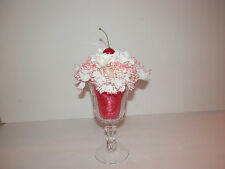 Fake Food Cherry Sundae