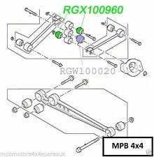LAND ROVER DISCOVERY 2 98-04 GENUINE WATTS LINKAGE TOP & BOTTOM BUSH RGX100960