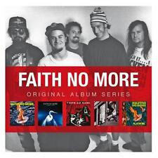 FAITH NO MORE 5CD NEW Real Thing/Angel Dust/King Day/Album Year/Live At Brixton