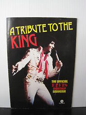 A Tribute to the King: The Official Elvis Presley Monthly Souvenir BOOK