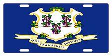 Connecticut State Flag  Custom License Plate State Emblem Original Version