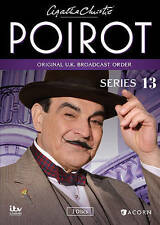 Agatha Christies Poirot: Series 13 (DVD, 2014, 3-Disc Set)
