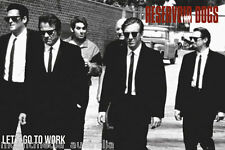 RESERVOIR DOGS MOVIE POSTER (61x91cm) LETS GO TARANTINO NEW LICENSED ART