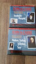 JOHN LE CARRE'  TINKER, TAILOR, SOLDIER,SPY + SMILEY'S PEOPLE - BBC VHS VIDEO