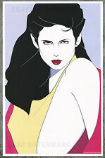 1980's Patrick Nagel Authentic Pin-Up Poster Art Print 11x17 Mirage
