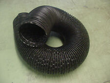 """Ford 4"""" Black Flexible Air Cleaner Intake Ram Air Hose Defroster SOLD BY FOOT"""