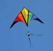 NEW 9ft single Line surfing Stunt Sport Delta Kite Outdoor fun Sports Toys tool