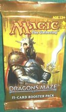 MTG DRAGON MAZE BOOSTER PACK 2 COUNT FREE SHIP LOOK 4 VOICE,PROGENITOR,ELEMENTAL