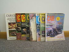 Lot of 8 Car Classics Magazines 1972-73-77 Illustrated Free Shipping