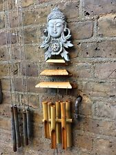 Large Beautiful Sparkling Buddhas Wind chime. Unique From The Designer Sius
