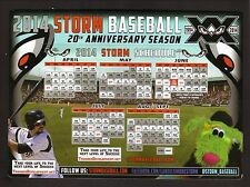 2014 Lake Elsinore Storm Magnet Schedule