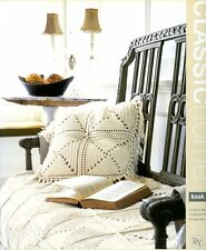 Rowan Classic Home Book Five - 16 Knitting & Crochet Patterns - Throws, Pillows+
