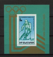 Bulgaria 1979 SG#MS2799 Winter Olympic Games MNH M/S