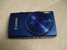 Very Nice Canon PowerShot 150 IS IXUS 155 20MP Digital Camera Blue