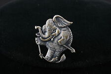 JAPAN ELEPHANT SKIING BROOCH FASHION 3897
