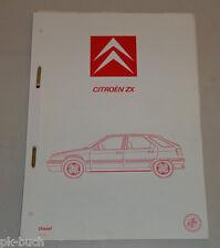 Werkstatthandbuch Citroen ZX Diesel Motor A9A / D9B / DJZ Stand 12/1991