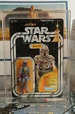 STAR WARS VINTAGE 1979 KENNER BOBA FETT 21 BACK-A  AFA 80
