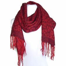 Yoshie Inaba Gorgeous Red Cherry Blossom Neck Scarf Scarve made in Japan