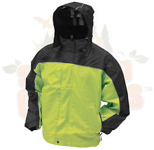 Small Hi Viz Green & Black Frog Frogg Toggs Highway Toads Motorcycle Rain Jacket
