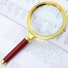 7cm Hand-hold 10X Magnifier Magnifying Glass Loupe Lens For Easy Reading Jewelry