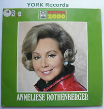 ANNELIESE ROTHENBERGER - Edition 2000 - Ex Double LP Record EMI 1C 187-29 233/4