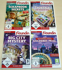 4 hormiguero PC juegos colección-Scrapbook Secrets 7 portales Big City Mystery