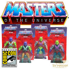 2015 SDCC Masters of the Universe Super 7 Test Shot Prototype - HE-MAN SET OF 4!