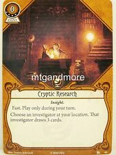 Arkham Horror LCG - #043 Cryptic Research lvl4 - Base Set