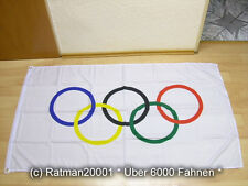 Fahnen Flagge Olympia Olympic - 90 x 150 cm