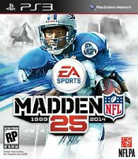 Madden NFL 25 Playstation 3 Video Game JC Used