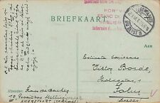 WWI POW POSTCARD ~ JUNE 1917 ~ FROM A POW IN GERMAN POW CAMP, ZEIST, NETHERLANDS