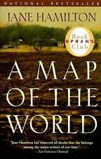 A Map of the World by Jane Hamilton (1999, Paperback) FREE SHIPPING U.S.A.