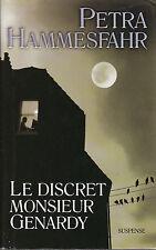 """Livres Roman """" Le Discret Monsieur Genardy  - Petra Hammesfahr  """" ( No  5525 )"""